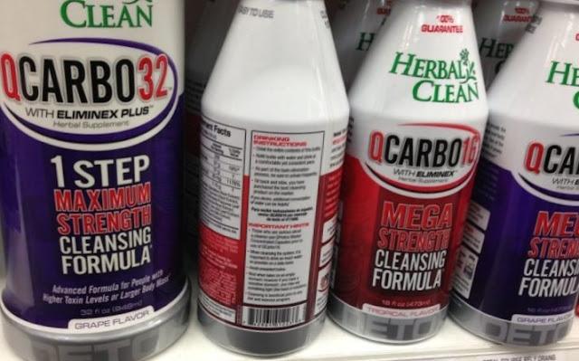 QCarbo Fast Detox Kit for Pass Marijuana Drug Test