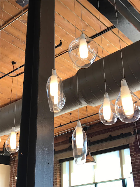 Modern Light Pendants. Luna's Living Kitchen. Charlotte, NC