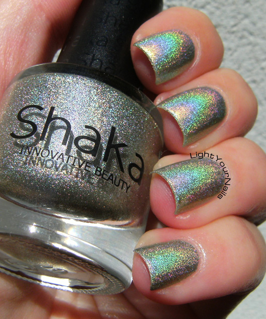 Shaka Hologram Green