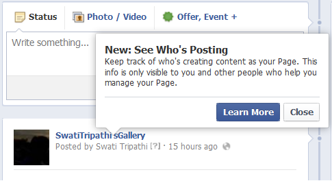 how to find a facebook page admin