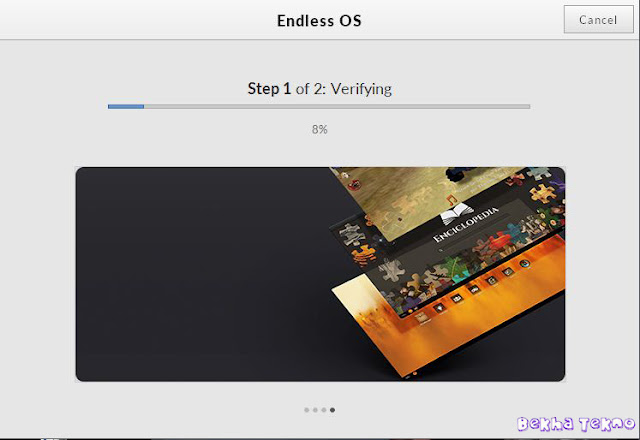 Instal OS Endless 11