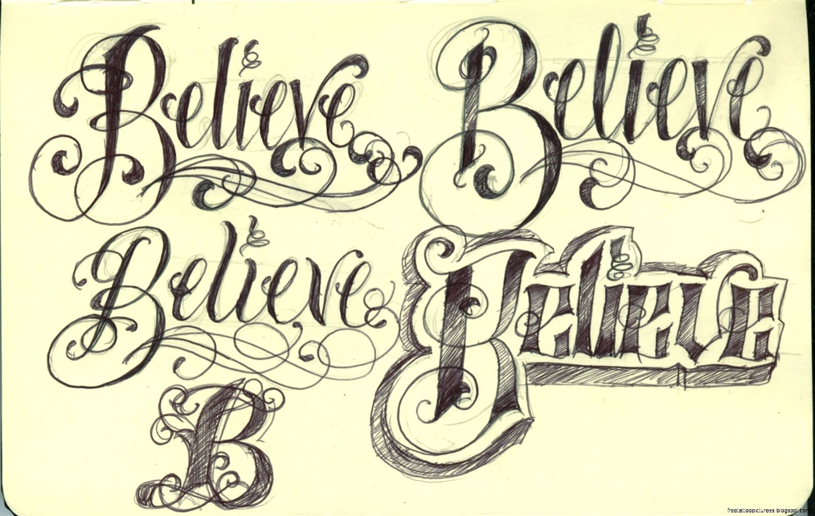 Tattoo Fonts: Free Tattoo Pictures