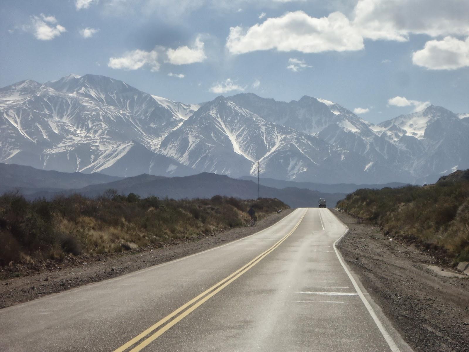 Loic Tour Du Monde à Vélo De Mendoza Argentine à Concepcion Chili
