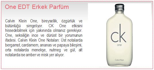 Calvin Klein-One EDT Erkek Parfüm