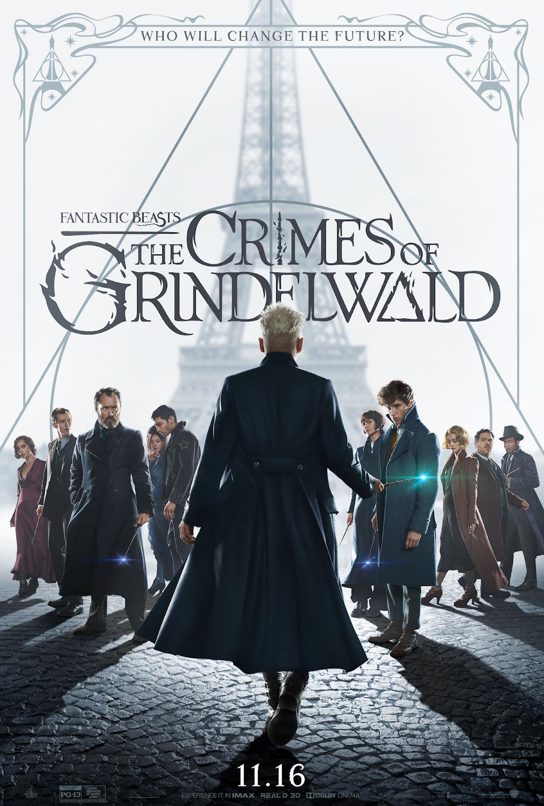 Novo pôster de crimes de Grindelwald