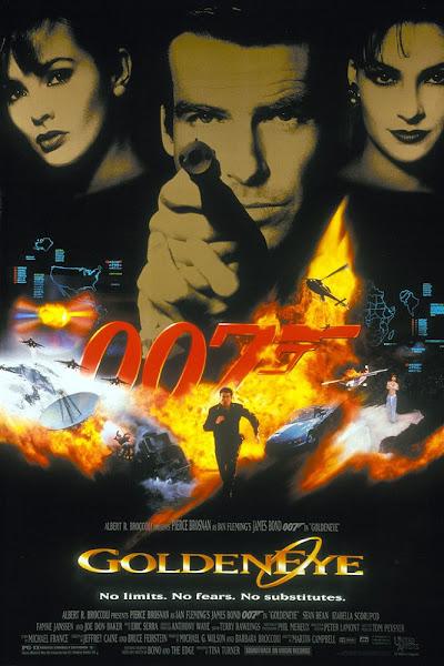 Poster of James Bond GoldenEye 1995 720p Hindi BRRip Dual Audio Download