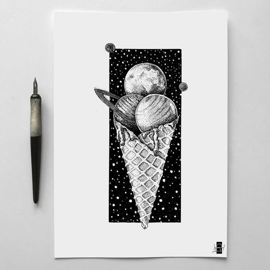 07-Planetary-ice-cream-cone-Rudoi-www-designstack-co