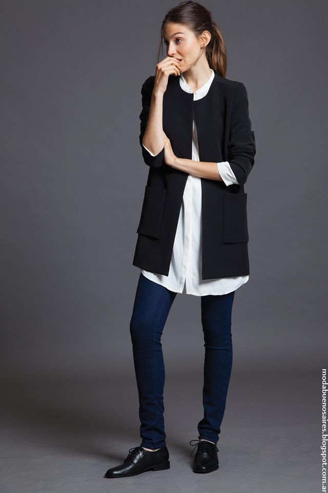 Moda Awada invierno 2016 ropa de mujer.