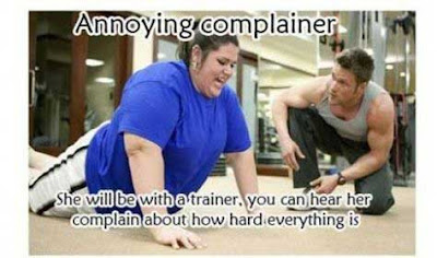 Complainer at gym