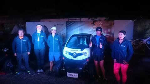Renault Twizy fue parte del Cross Chaquiñán Nocturno 201