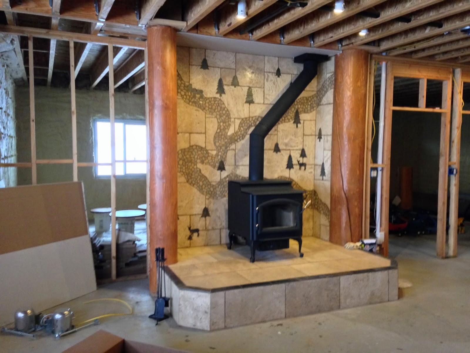 Stallings Sheet Metal: Stove/Fireplace Installation Pics