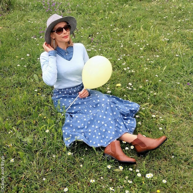 Polka Dots + Balloons   Candy and Style