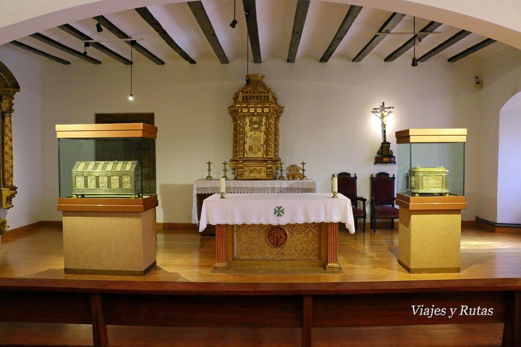 Oratorio de San Millán. Monasterio de Yuso, san Millán de la Cogolla