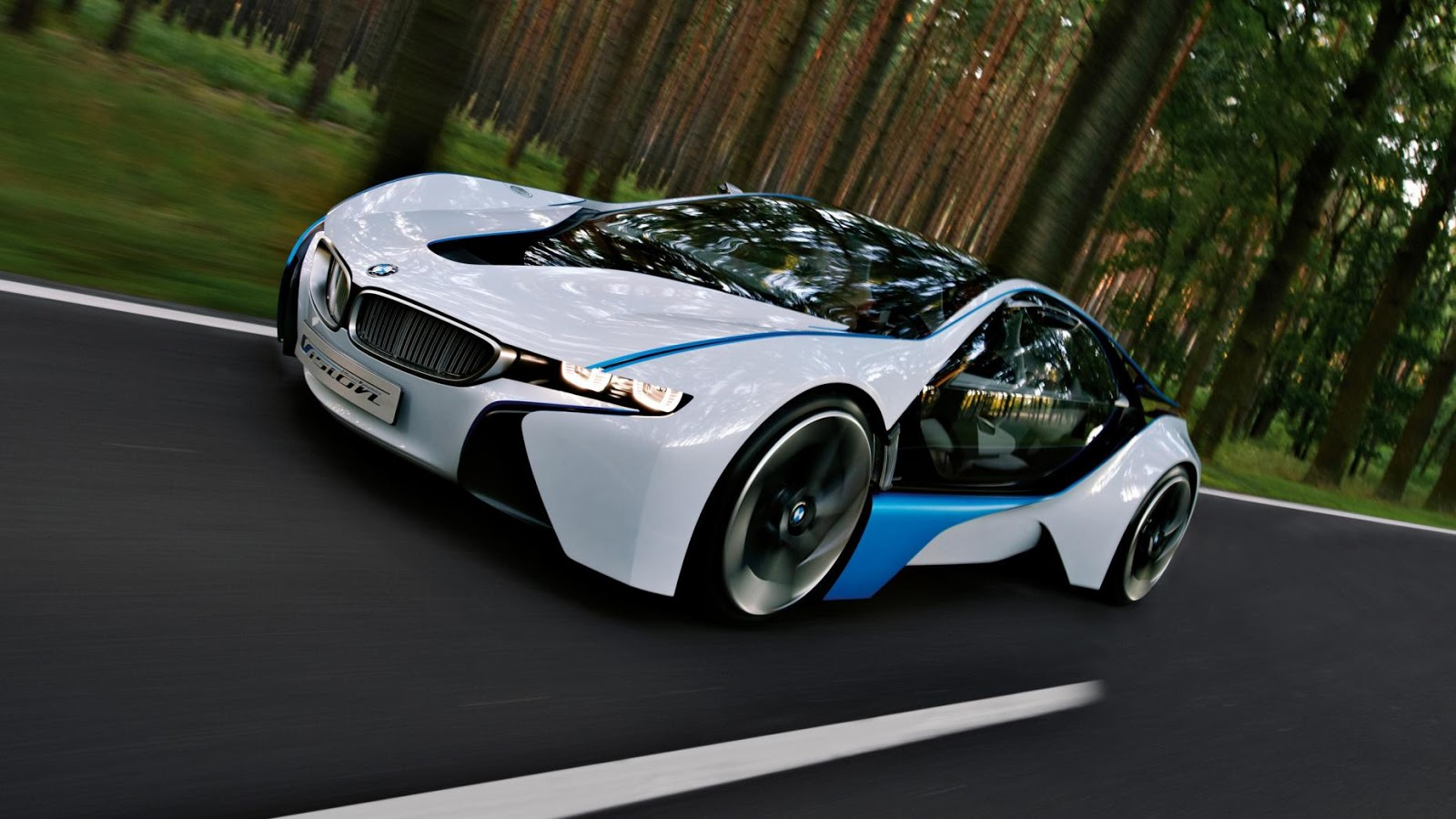 2009: BMW Vision Efficient Dynamics