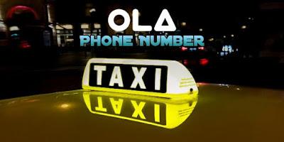 Ola Customer Care Number, Ola Phone Number