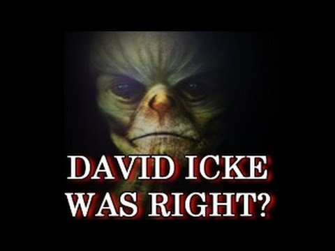 David Icke Explaining the Reptilian ET Theory