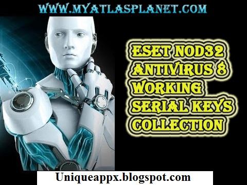 Latest Universal Eset Nod32 Serial Keys Download Free