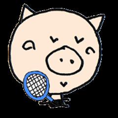 Bookichi play tennis2
