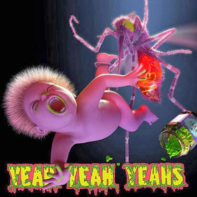 The 10 Worst Album Cover Artworks of 2013: 01. Yeah Yeah Yeahs - Mosquito
