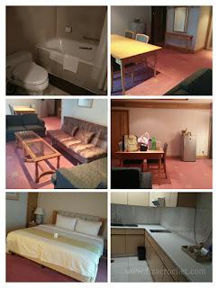 Suasana bilik riverside majestic hotel
