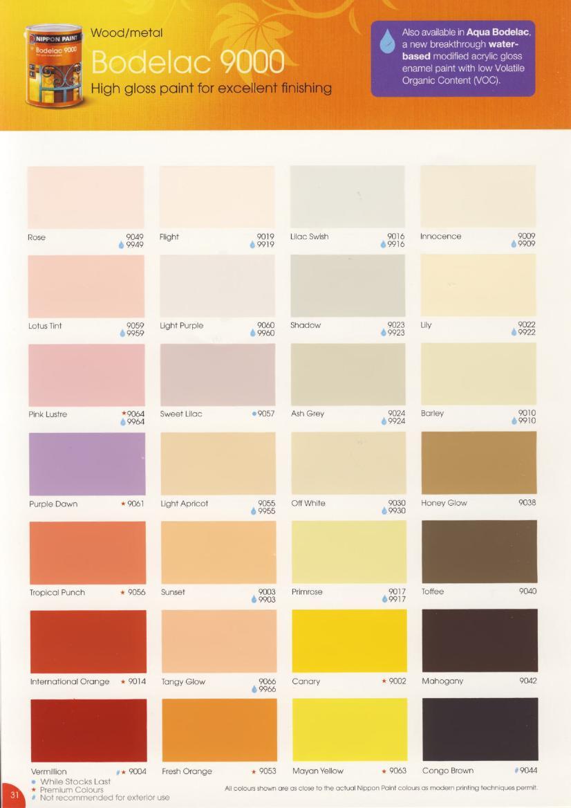 Katalog Warna  Nippon  Paint