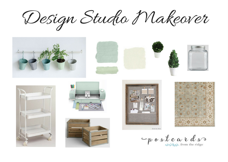 design studio makeover plan