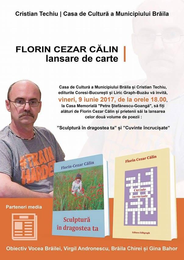 Florin Cezar Calin- lansare de carte