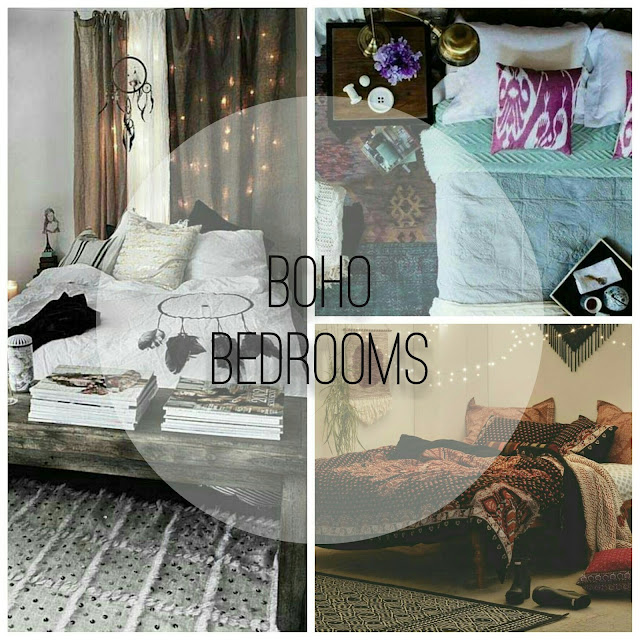 Boho bohemian bedroom