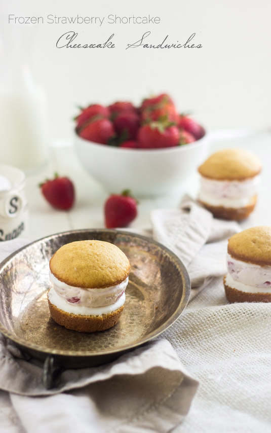 Strawberry Shortcake Parfait With Angel Food Cake