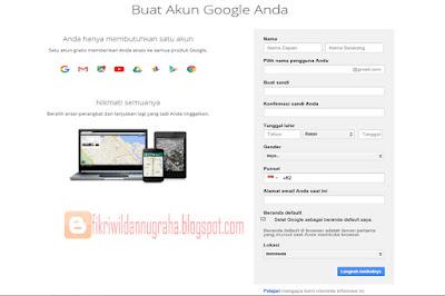 formulir gmail.com fikriwildannugraha.blogspot.com cara memperkuat keamanan akun share follow tutorial membuat email panduan lengkap