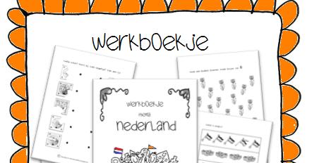 New Kleuterjuf in een kleuterklas: Werkboekje | Thema NEDERLAND &CR35