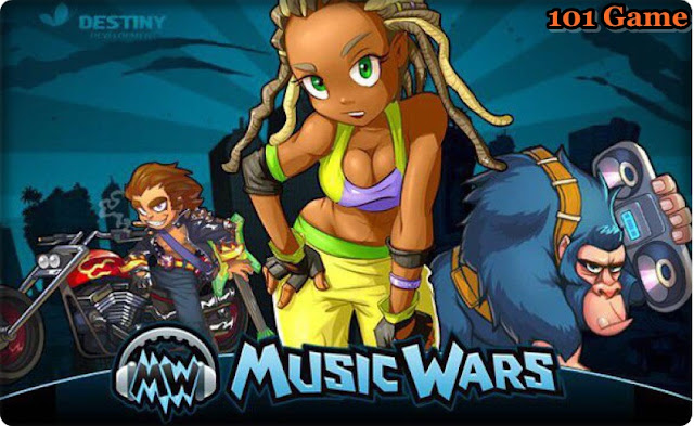 Браузерная игра для девочек и мальчиков | Music Wars