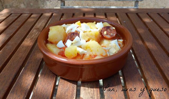 Patatas a la burgalesa (tradicional o Crock-Pot)