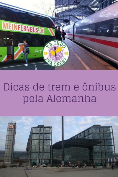 Dicas para viajar de trem e ônibus pela Alemanha