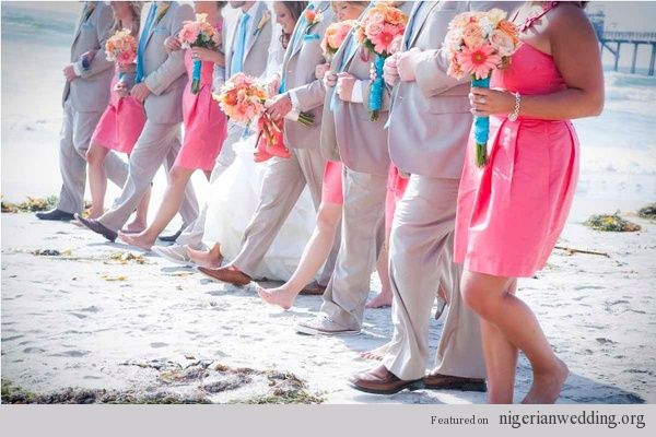 "Coral And Turquoise Wedding: ""I Do's"" Hot Topics"