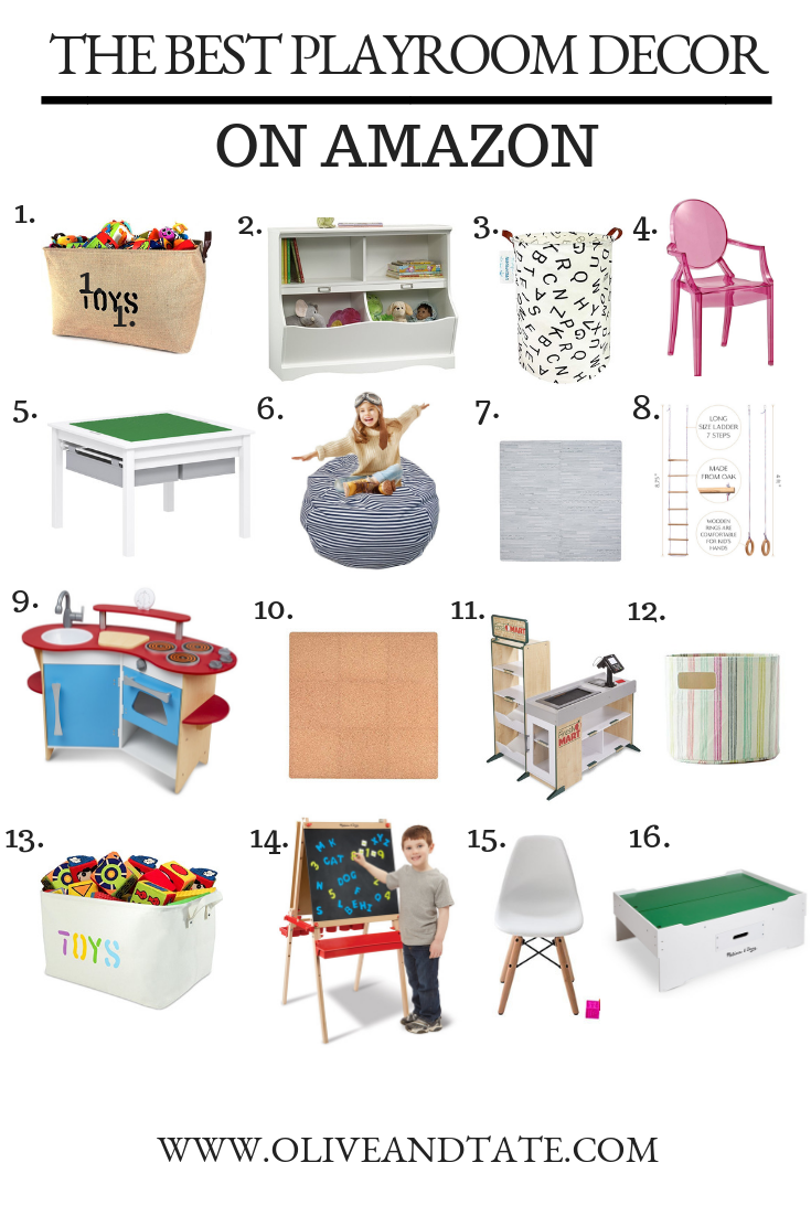 The Best (Gender Neutral) Playroom Decor on Amazon