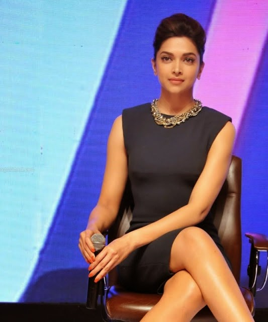 Deepika Padukone shows off her Long Legs