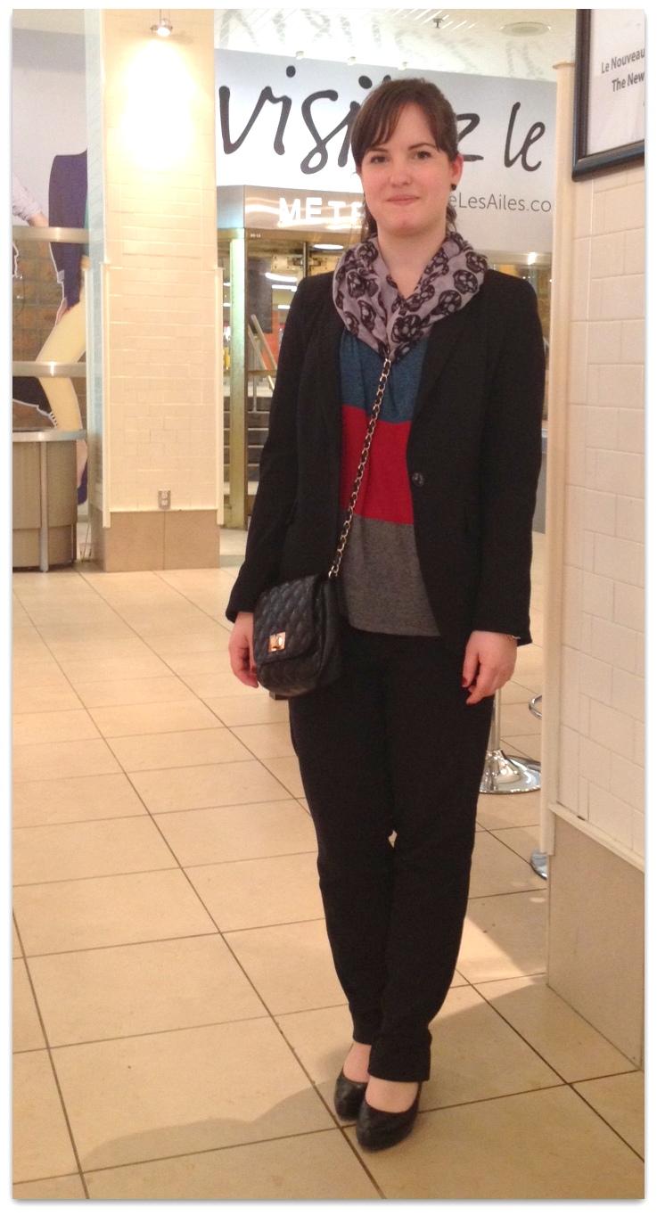 Chic-clic Catherine, 23 ans: le tailleur dynamisé