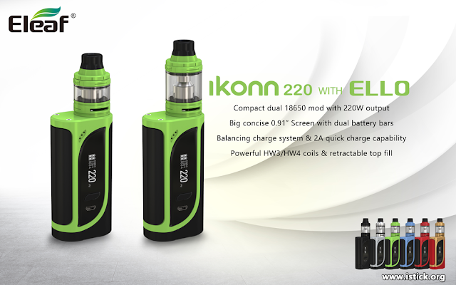 Recommend iKonn 220 with ELLO Kit for you