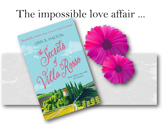 Cover Reveal: The Secrets of Villa Rosso by Linn B Halton