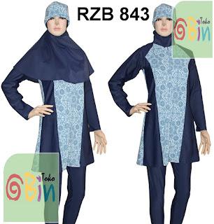 baju renang muslim syari RZB 843