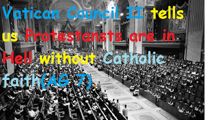 Image result for Graphics Vatican Council II Feeneyite and Cushingite Photos