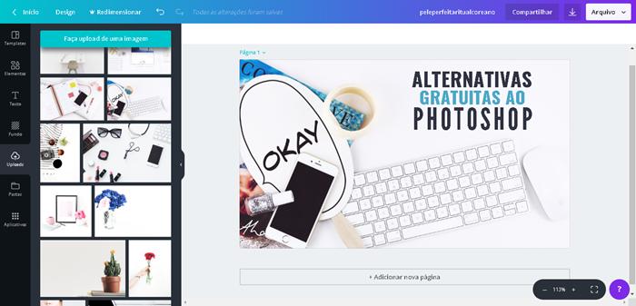 Crie belos designs gráficos usando o editor gratuito Canva - alternativa ideal ao photoshop!
