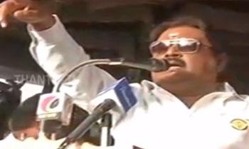 DMDK Chief Vijayakanth Campaigns at Ulundurpet constituency – Thanthi Tv