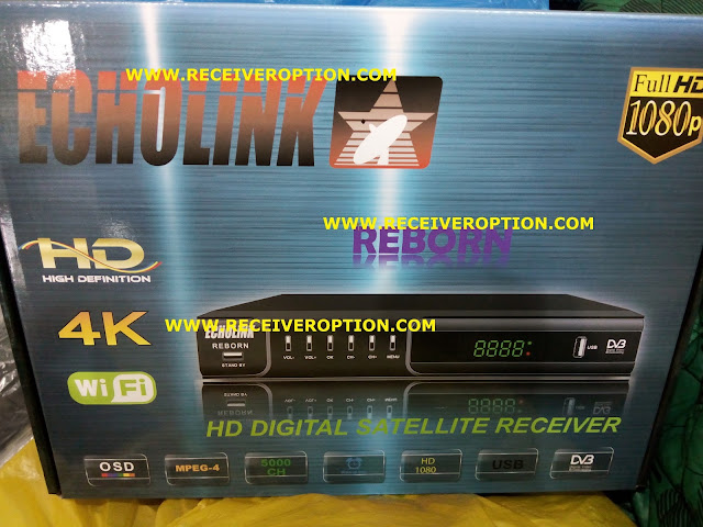 OLD MODEL ECHOLINK REBORN HD RECEIVER CCCAM OPTION
