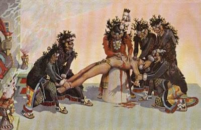 Ritual pengorbanan suku Azteck - berbagaireviews.com