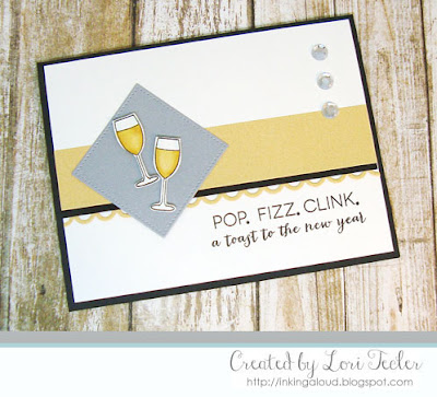 Pop Fizz Clink card-designed by Lori Tecler/Inking Aloud-stamps from Clear and Simple Stamps