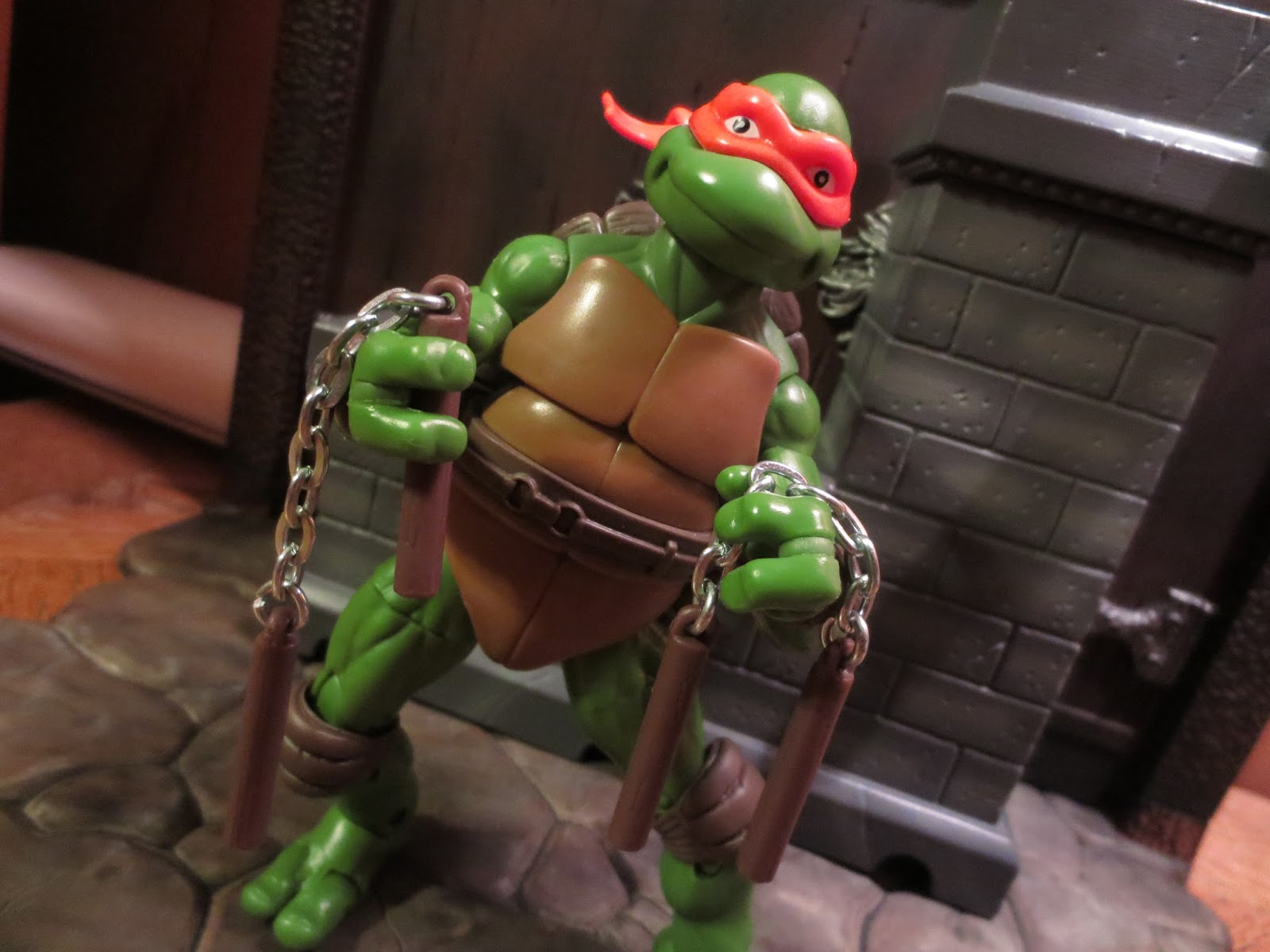 Retro review teenage mutant ninja turtles ii secret of the ooze -  Based Classic Collection Figures I Also Like That Playmates Did Use Different Skin Tones For The Turtles That Match Their Vintage Toys