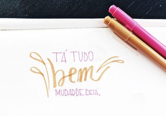 MUDAR DE IDEIA