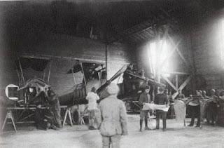Yeşilköy Tayyare Okulu 3 Temmuz 1912'de açıldı